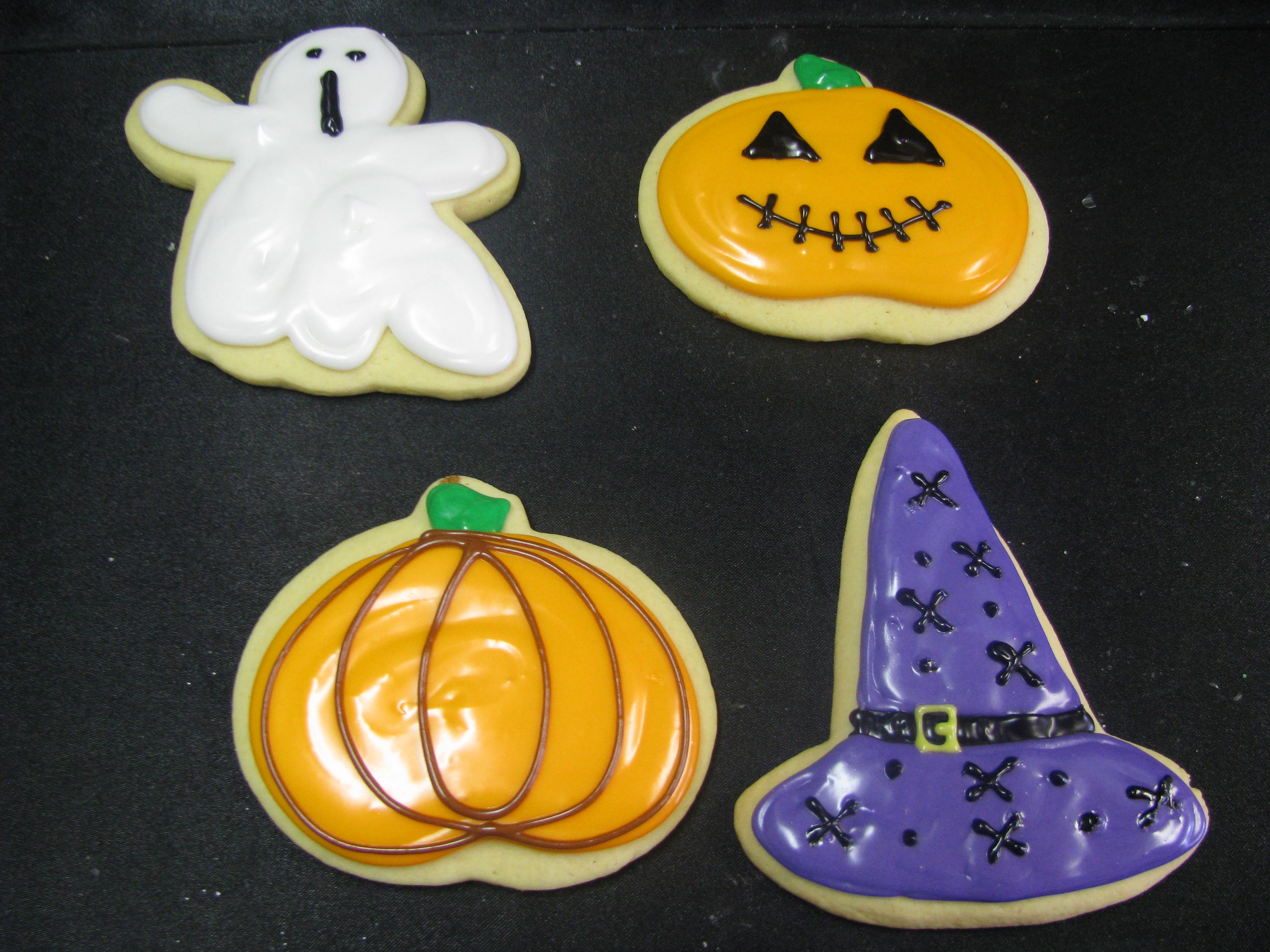Halloween Themed Baby Shower Cookies.Barbs Bakery